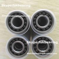 China Full Complement 6001 Hybrid Ceramic Ball Bearings Stainless Steel Rings Si3N4 Balls wholesale
