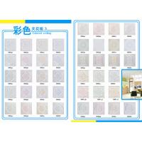 China catalog of colorful Calcium silicate board  595X595X 9mm wholesale