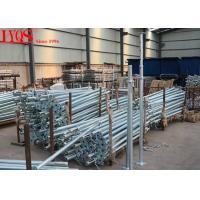 Quality Size 3 Galvanised Acrow Props , Scaffolding Steel Prop For Concrete Floor Building for sale