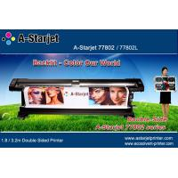 China A-Starjet Eco Solvent Double Sided Printer 1.8M for Flex Banner in Airport wholesale