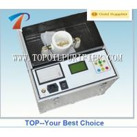 Buy cheap Economical portable insulation oil tester with output voltage up to 80kV, LCD display, meet IEC156, with printer from wholesalers