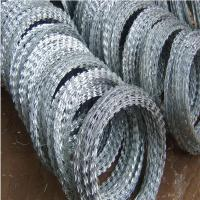 China razor wire with clips  wholesale