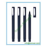 China rubber sprayed square ball pen, W hotel ball pen wholesale