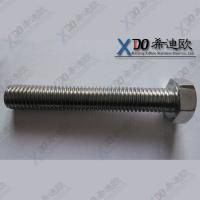 China Stainless steel C276 alloy625 nut bolt manufacturing machinery price wholesale