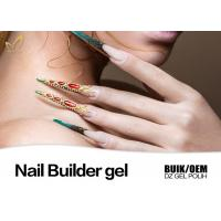 China Strong Adhesion Thick Uv Gel Nail Builder For Extend Nails Jelly Gel Long Stay wholesale