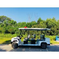 Quality 38.5KW Electric Patrol Car , Park Scenic Spot Classic Electric Vintage Cars for sale