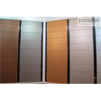 China Textured External Wall Cladding Terracotta Panel System 300 - 1500mm Length wholesale