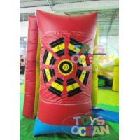 China Small Inflatable Soccer Sand Bag Toss Game For Kids Toss Game Goal Target wholesale