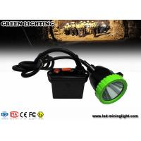 China 50000 Lux super brightness LED cordless mining lights with 11.2Ah 3.7V battery wholesale