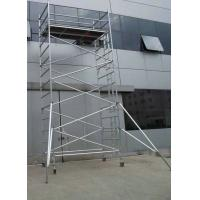 Aluminum Scaffold Tower : Safe durable waterproof aluminum mobile scaffolding tower