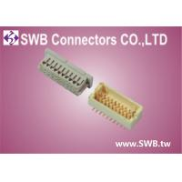 SWB 1.0mm Pitch Pcb Wire Connectors , LCP Nature , Phosphor Bronze