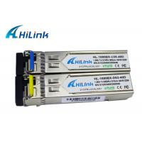 China WDM 1310nm / 1550nm SFP Transceiver Module 40KM PIN Receiver Hilink Brand wholesale