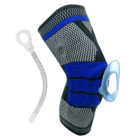 China High Quality Elastic Compression Knee Brace Crossfit Support For Running wholesale