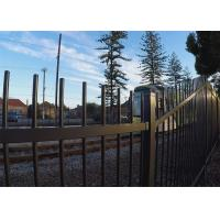 China Australia Garrison Fencing Steel Tubular Tube 40mm wall Thick 1.6mm Rails Upright 25mm x 25mm x 1.2mm wholesale