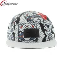 China Polyester His Airness 5 Panel Camper Cap , Multi Colors Snapback Hat wholesale