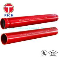 China Hot Dipped Welding Steel Tubing ASTM A795 / Welded Fire Protection Pipes Zinc - Coated wholesale