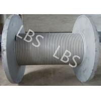 China Fast Speed Smooth Drum Winch Wire Rope Winch Drum 10 Ton 20 Ton wholesale