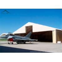 China 30m * 50m Helicopter Hangar / Fire Resistant And Durable Large Tents wholesale