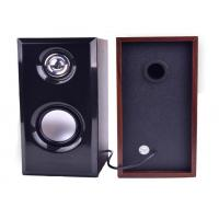 Wooden Computer Speakers , Table PC Stereo Computer Speakers on sale