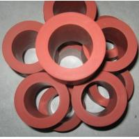 China 260C 235mm Length Heat Transfer Machine Red Silicone Rubber Roller wholesale