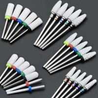 Buy cheap Not Rusty Cuticle Nail Drill Bits Ceramic Material Corrosion / Heat Resistant from wholesalers