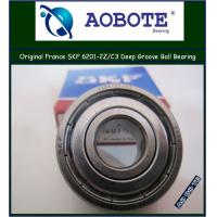 China Sweden Deep Groove Ball Bearing 6201-2Z / C3 , P5 Bearing wholesale