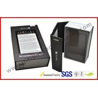 China Custom High End MID / Ipad Gift Packaging Boxes With Stamp for Pic wholesale