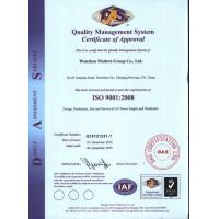 Wenzhou Modern Group Co., Ltd. Certifications