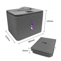 China 2020 Hospital medical devices disinfection lamp light foldable sterilizer box on sale
