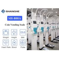 China Human Blood Pressure 299mmHg Electronic Height And Weight Machine on sale