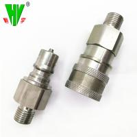 China Wide range hydraulic fitting types quick couplers flat face quick coupling wholesale