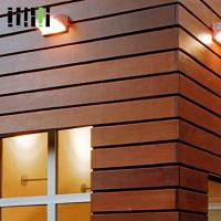 China Wood Wall Cladding Panels , Exterior Wooden Wall Tiles 5 Years Warranty wholesale