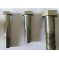 China 12.9 Grade Half Threaded Carbon Steel Bolts , Hex Head Cap Screw For Spare Parts wholesale