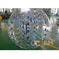 China Transparent Giant Inflatable Bumper Balls For Human / Body Water Zorbing Ball wholesale