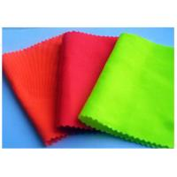 China Comfortable Wrinkle Free Cloth Material Fluorescent Twill Fabric 235 GSM wholesale