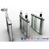 China Luxury Speed Gate Turnstile Gate Visit Management System For Bank Building wholesale
