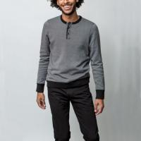 China Cool Free People Too Good Sweater , 100 Cotton Half Zip Up Sweater For Male wholesale