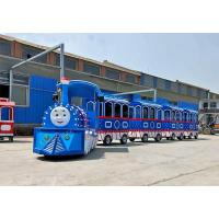 China Kids Electric Trackless Train , Color Custom Electric Trains For Children wholesale