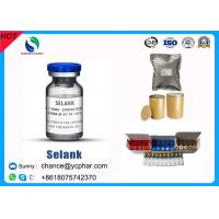 China Selank Injectable Synthetic Analogue Nootropic Anxiolytic Peptide CAS 129954-34-3 wholesale