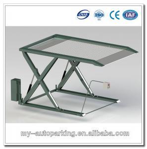 China Two Vehicle Car Parking Lift China Scissor Lift Manual Scissor Lift Table wholesale