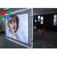China Cool White 8000K LED Crystal Light Box A3 A4 Poster Size For Real Estate Store Display wholesale