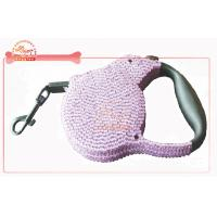 China Super Stylish Rhinestone Retractable Dog Leash wholesale