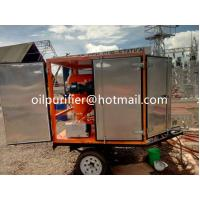 Buy cheap Mobile OutdoorType Transformer Oil Purifier, Mobile Vacuum Oil Treatment Plant from wholesalers