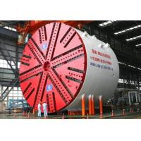 China Slurry Pressure Balance Tunnel Boring Machine With Panel Cutter Head Electrical Motor Drive wholesale