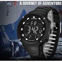 China Wholesale Synoke Chime Alarm Men Chronograph Waterproof 50m Multifunction Outdoor Advent8ure Watch  9638 wholesale