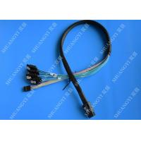 China 50cm SFF-8087 to 4x SATA - Internal Mini SAS to SATA Reverse Cable wholesale
