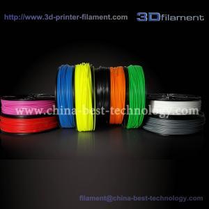 China 3D Printer Filament PLA 1.75mm for Maketbot , UP! Printer wholesale