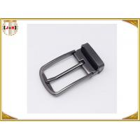 China Pin Type Reversible Metal Belt Buckle , Mens Coat Belt Buckles Replacement wholesale