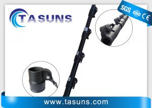 China Layup Carbon Fiber Telescoping Pole With Adjustable Clamps on sale