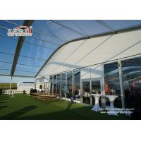 China Sandwich Wall Clear Span Tents Transparent PVC Roof Cover Outside wholesale